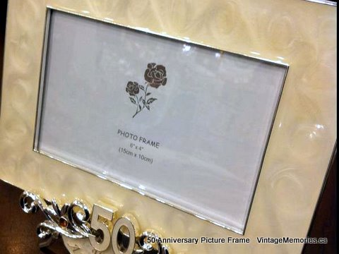50th Anniversary Picture Frames