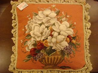 Needlepoint pillow-18