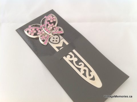 Diamented butterfly Book Mark