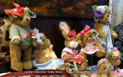 Lovely Collectible Teddy Bears