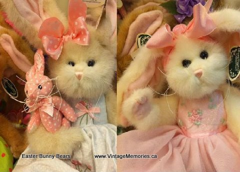 Easter bunny bears