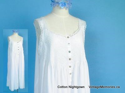 cotton nightgown 001
