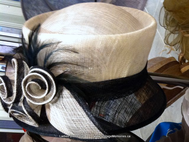 Vintage Amp Memories Fascinator Lady Feather Hats