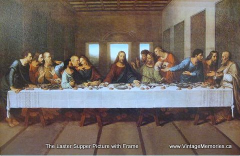 The last supper Frame