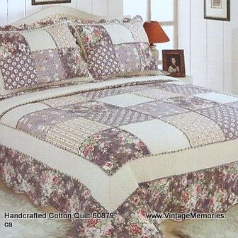 Handcrafted Cotton Quilt 60879